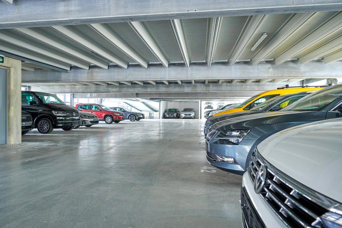Nos parkings sont de grande qualité et durables en matière d'économie, d'écologie et d'environnement