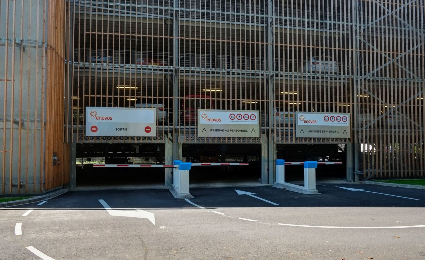 Parking Real Estate de 400 places