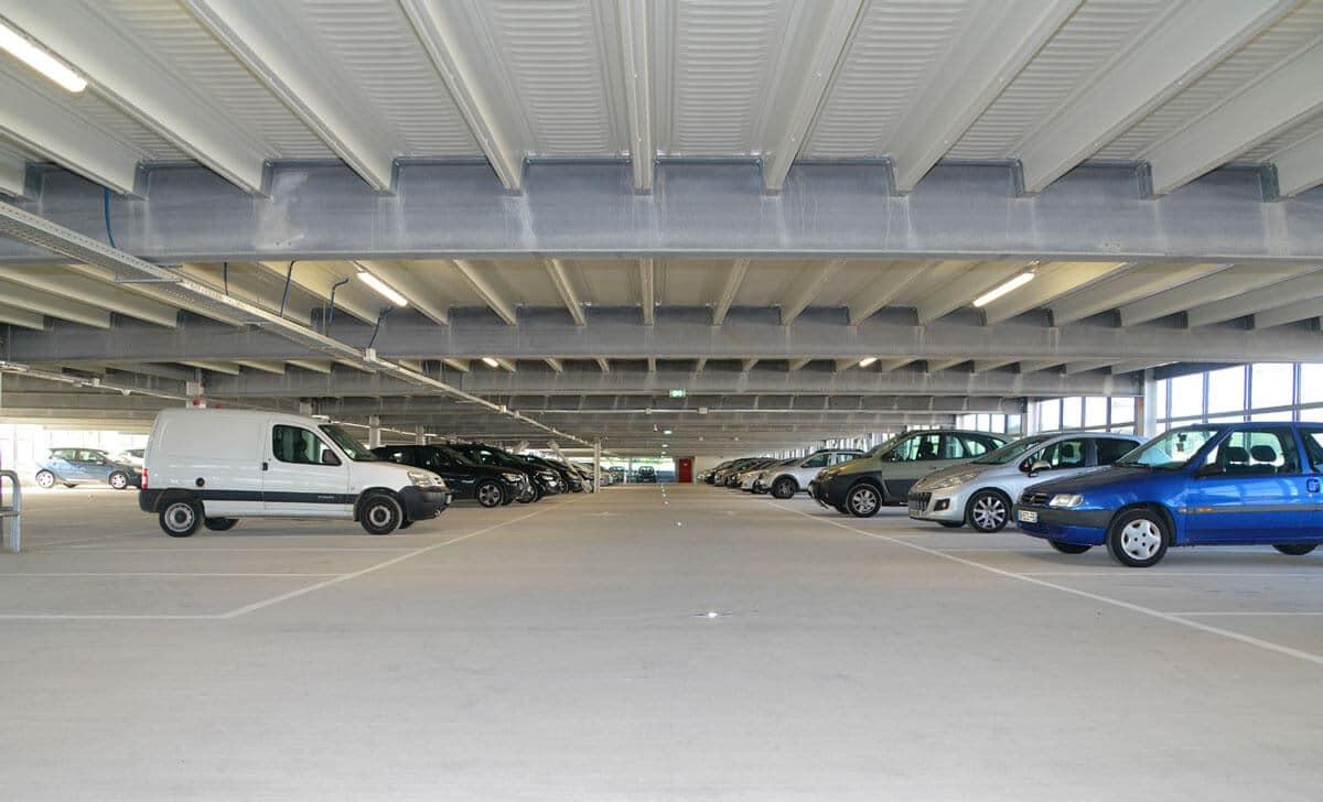 Parking Immobilier commercial de 350 places