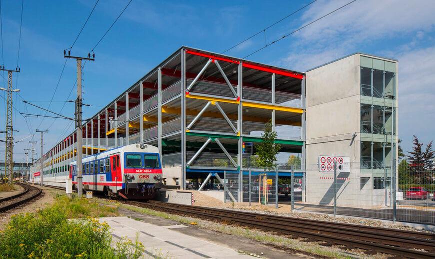 Parking Gare ferroviaire de 545 places
