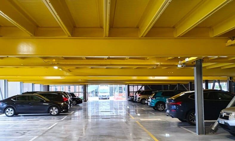 Parking Industrie de 200 places