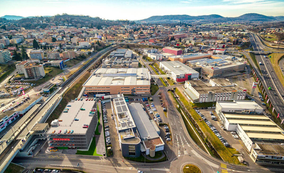 Parking Immobilier commercial de 590 places