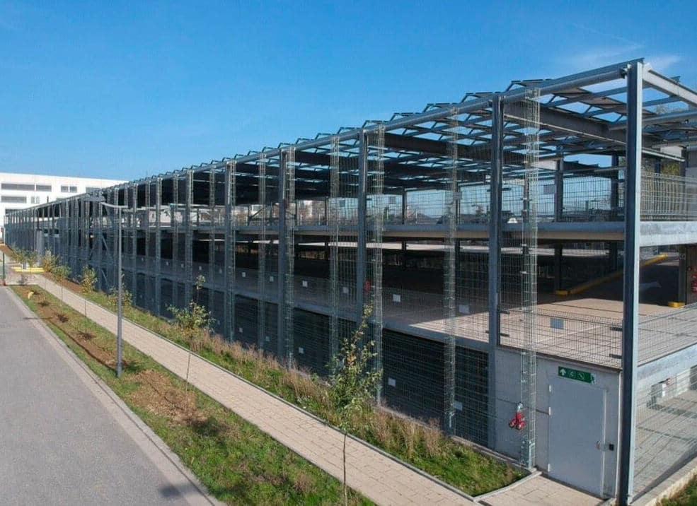 Parking panneaux photovoltaïques ESCH-SUR-ALZETTE